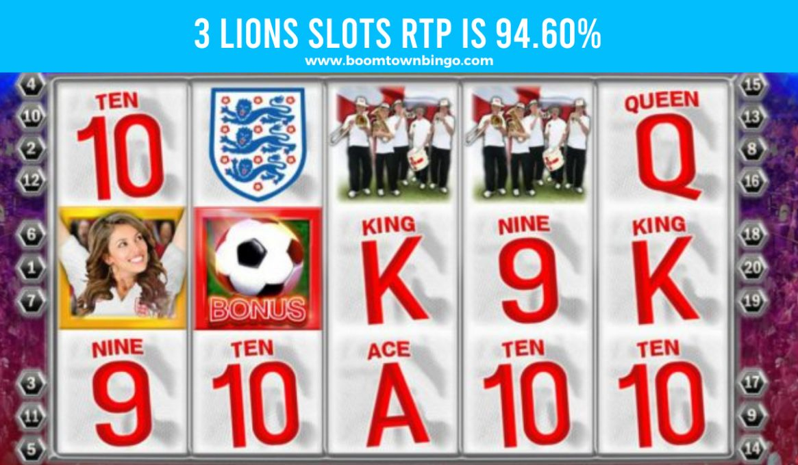 3 Lions Slots Return to player
