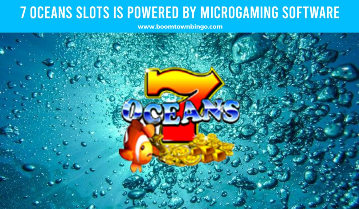 7 Oceans Slots made by Microgaming software