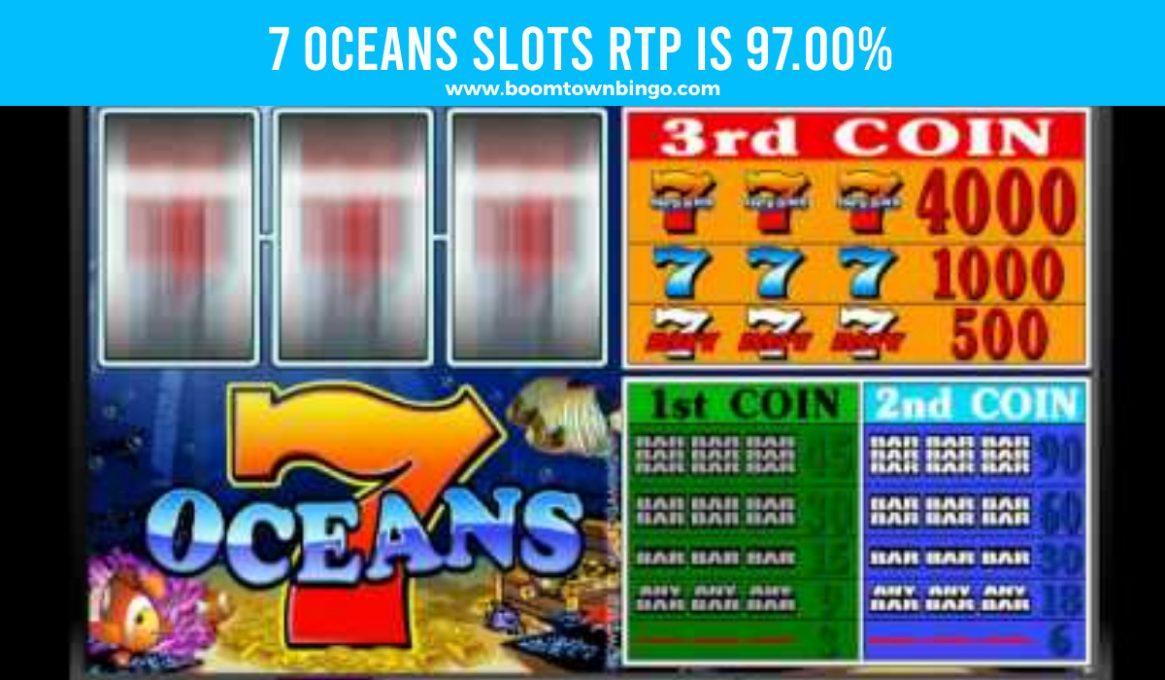 7 Oceans Slots Return To Player