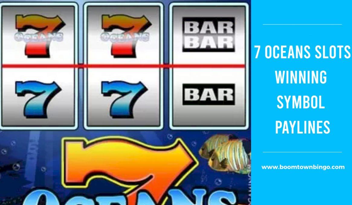 7 Oceans Slots Winning Paylines