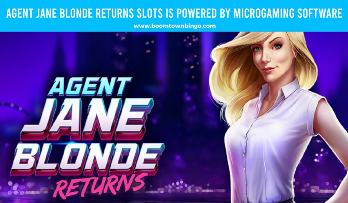 Agent Jane Blonde Returns Slots made by Microgaming software