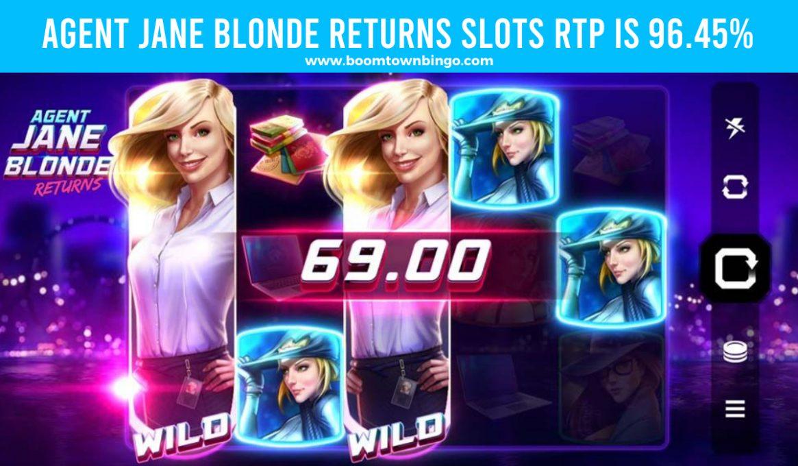 Agent Jane Blonde Returns Slots Slot Return to player