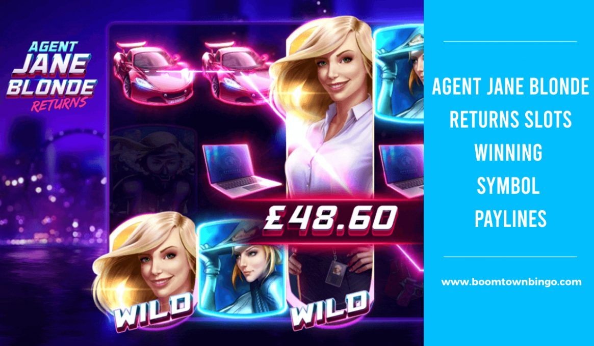 Agent Jane Blonde Returns Slots Paylines