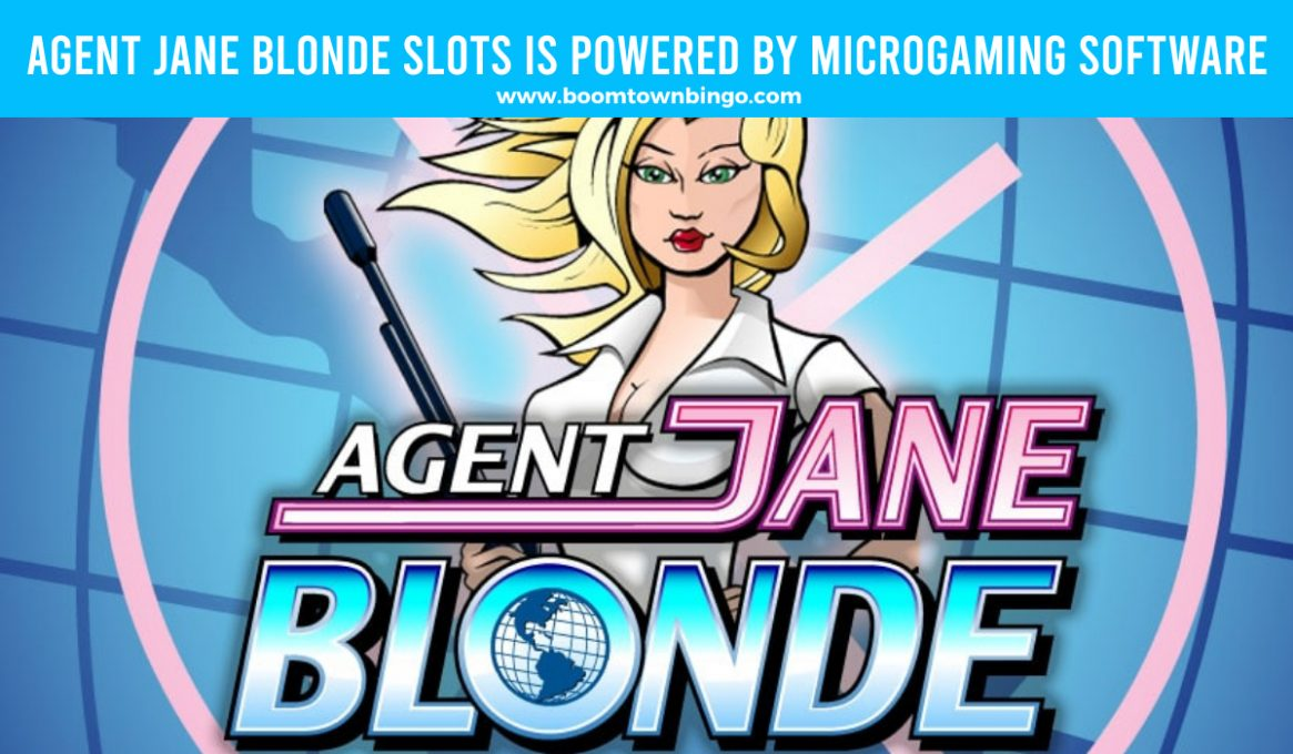 Agent Jane Blonde Slots made by Microgaming software