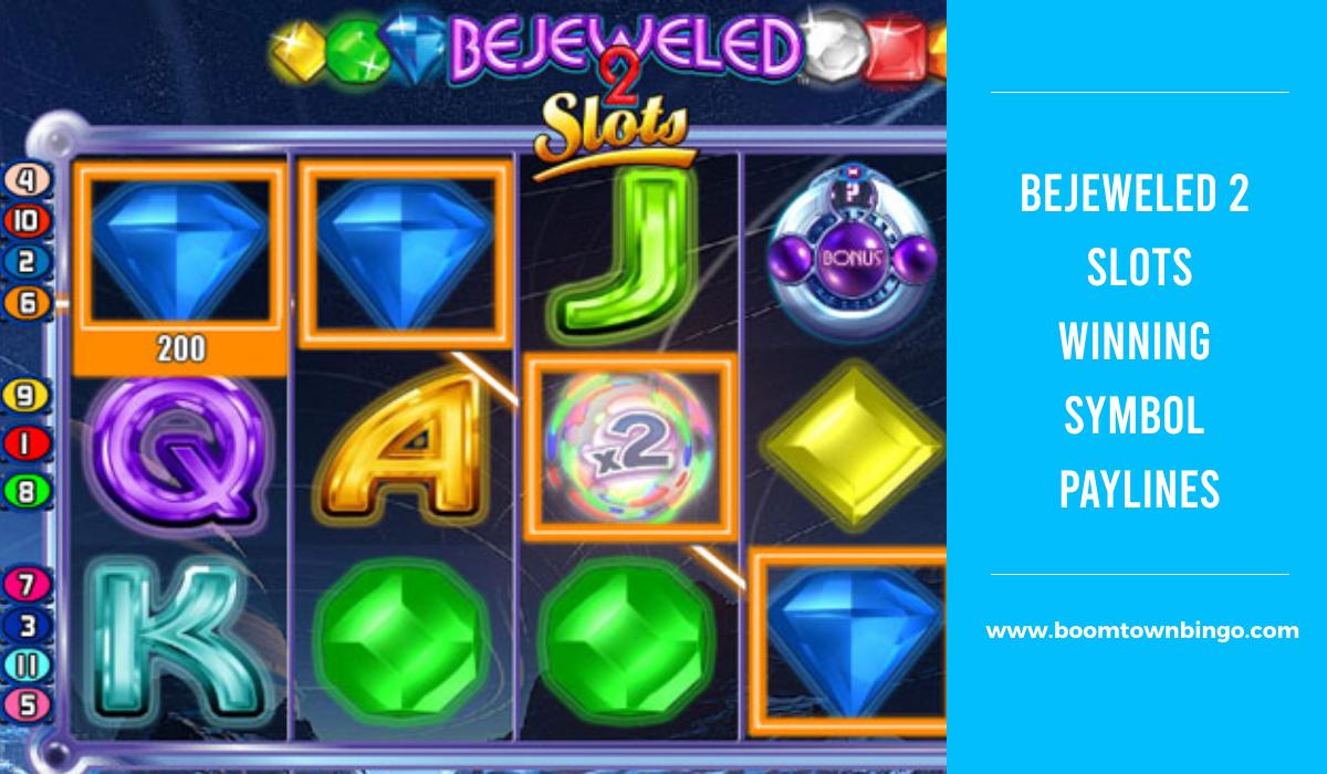 Bejeweled 2 Slots winning Symbol Paylines