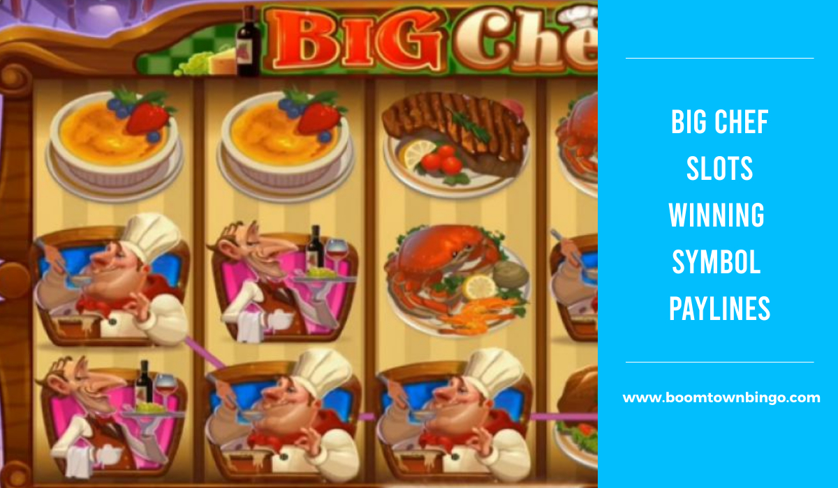 Big Chef Slots Symbol winning Paylines