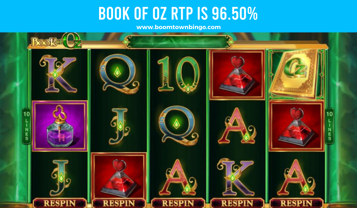Book of Oz Return to player