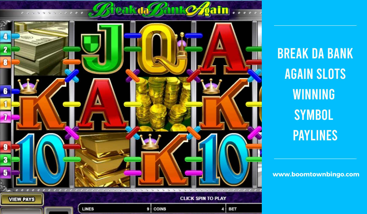 Break da Bank Again Slots Symbol winning Paylines