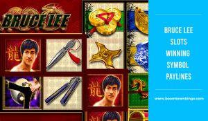 Bruce Lee Slots Symbol winning Paylines