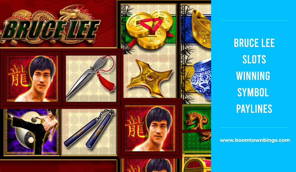 Bruce Lee Slots Symbol winning Paylines