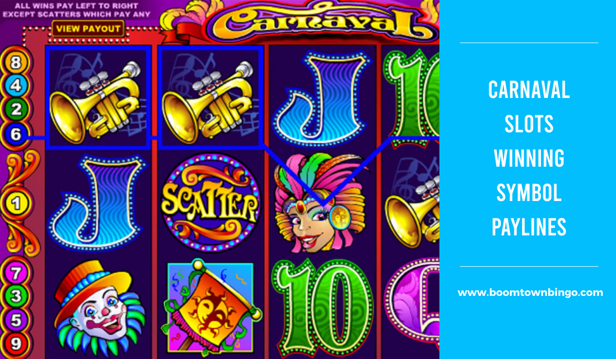 Carnaval Slots Symbol winning Paylines