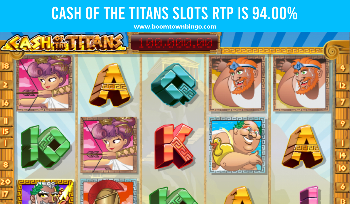 Cash of the Titans Slots Return to player