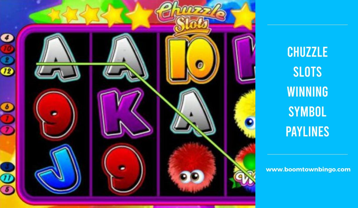 Chuzzle Slots Symbol winning Paylines