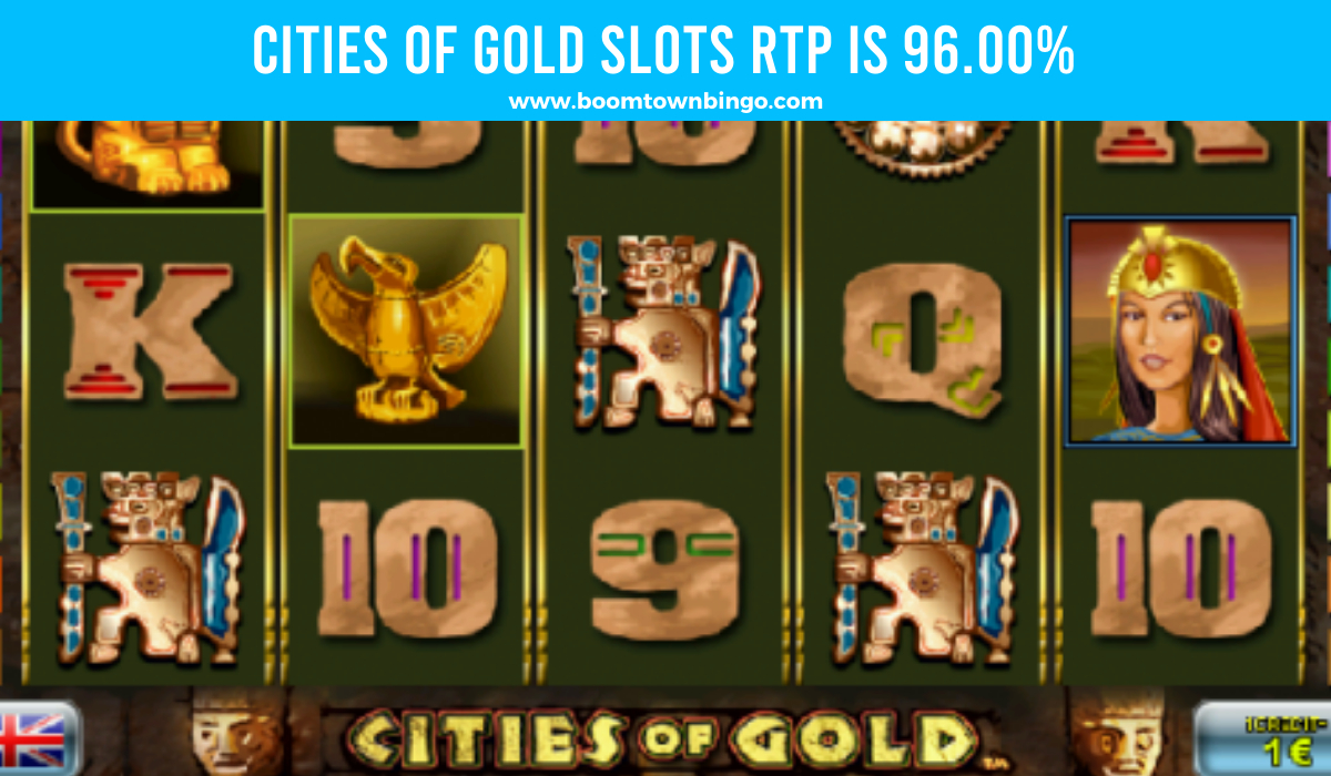 Cities of Gold Slots Return to player
