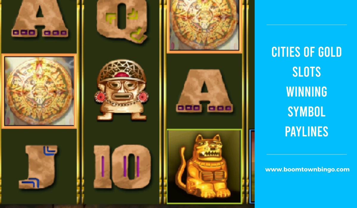 Cities of Gold Slots Symbol winning Paylines