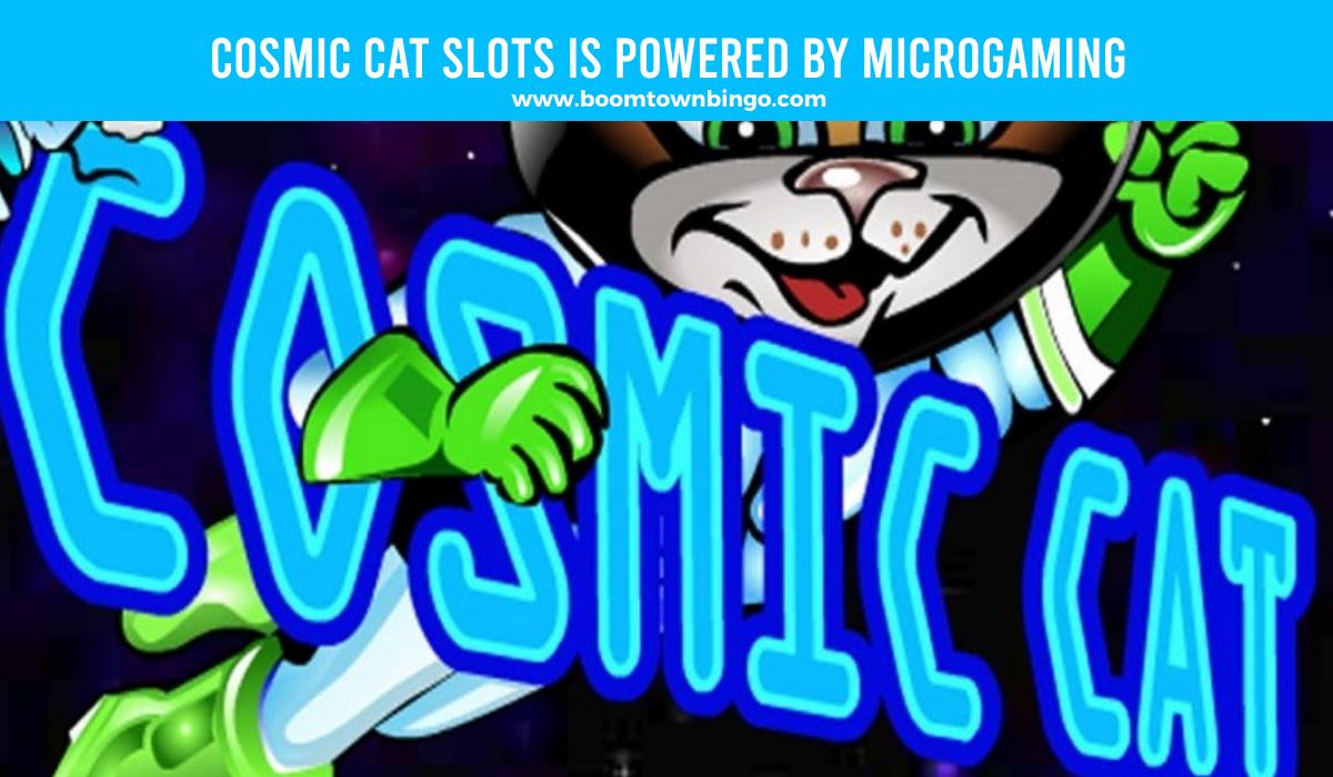Microgaming powers Cosmic Cat Slots