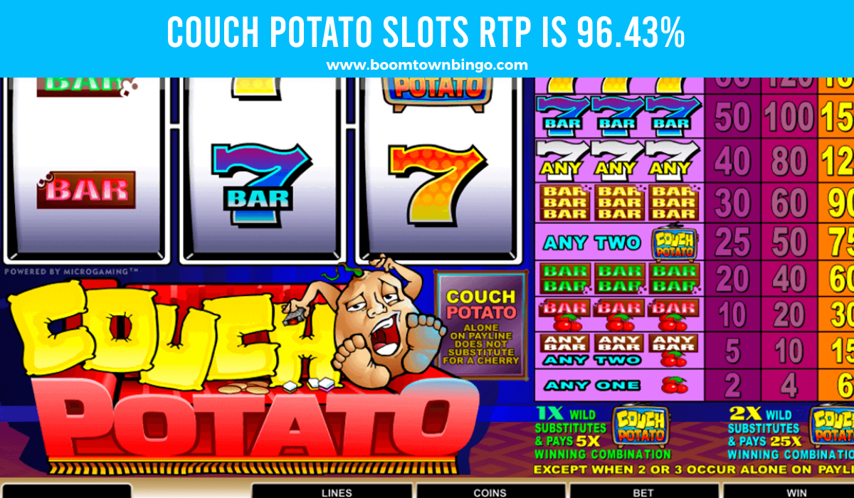 Couch Potato Slots Return to player