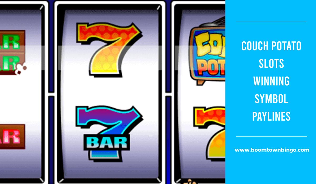 Couch Potato Slots Symbol winning Paylines