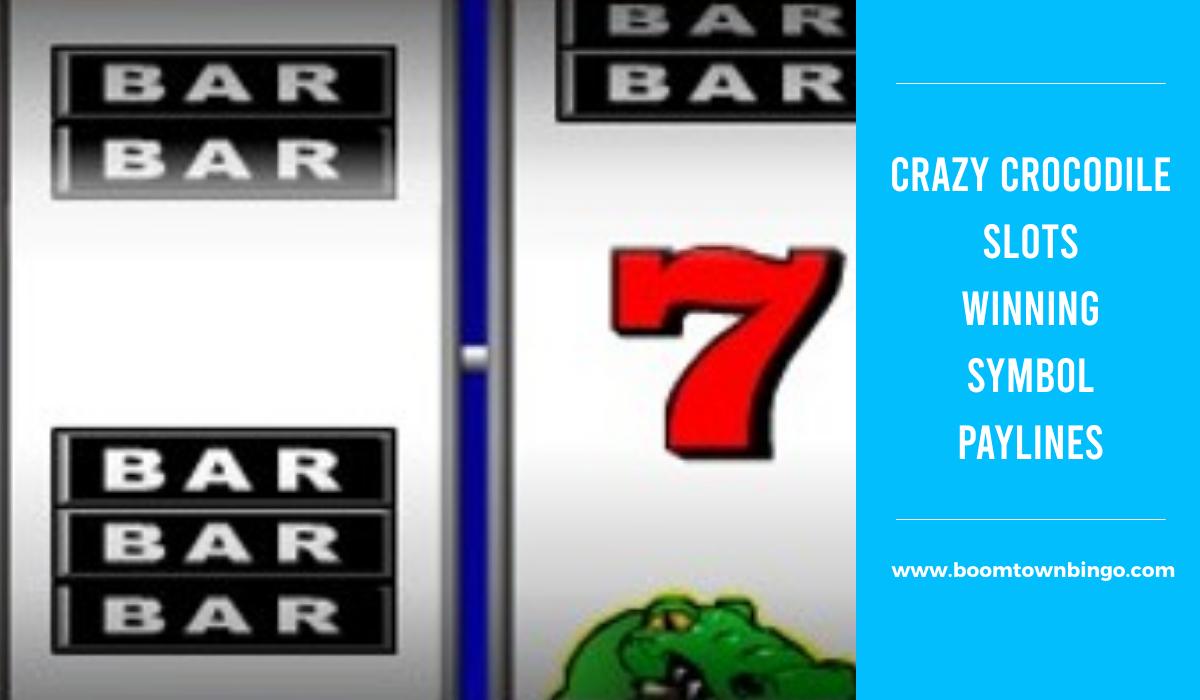 Crazy Crocodile Slots Symbol winning Paylines