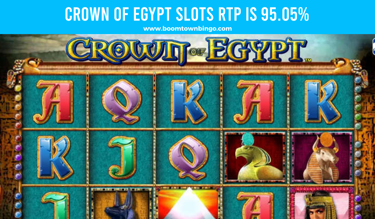 Crown Of Egypt Slots Return to player