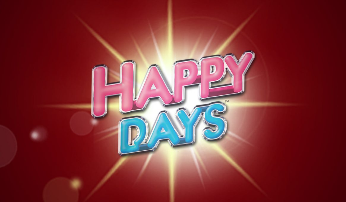 Happy Days Rock the Jackpot Slot Machine