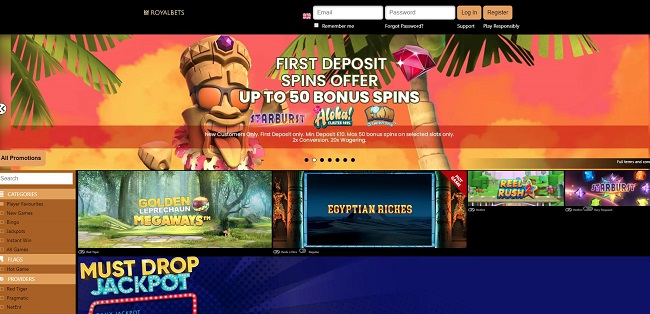 Royal Bets Casino Review