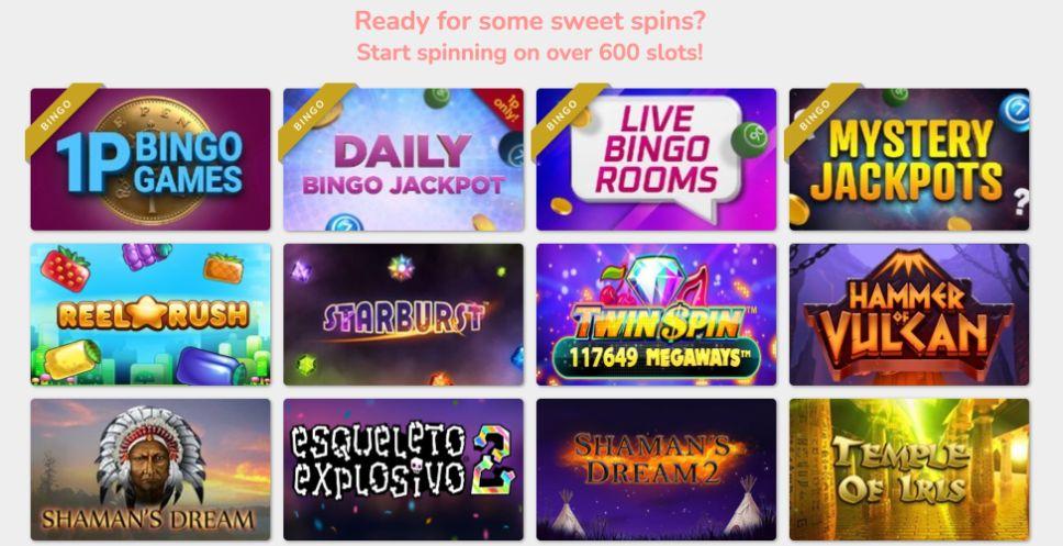 cupcake bingo slots