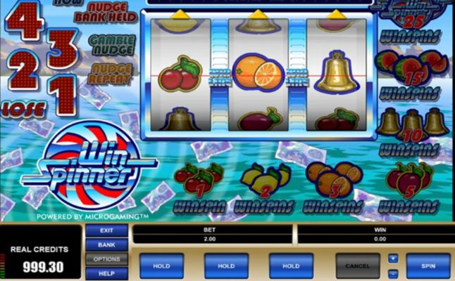 Win Spinner Slot Machine