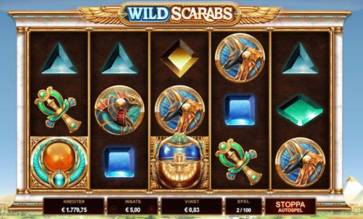 Wild Scarabs Slot Machine