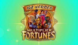 108 Heroes Multiplier Fortunes Slots