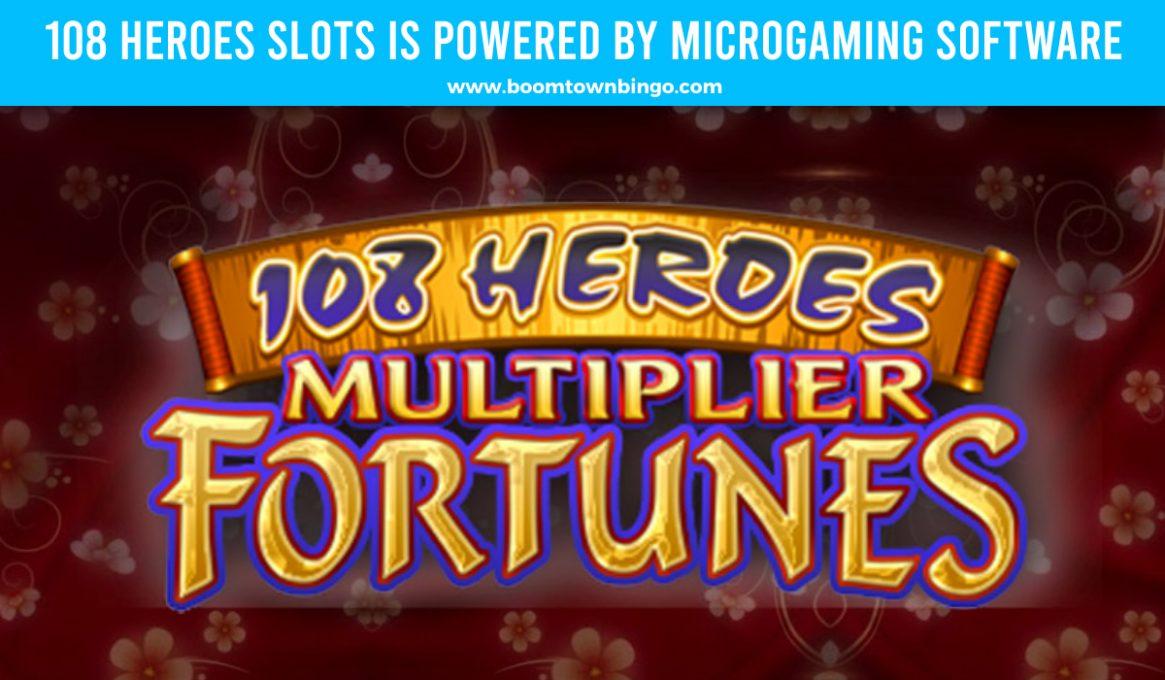 108 Heroes Slots Microgaming