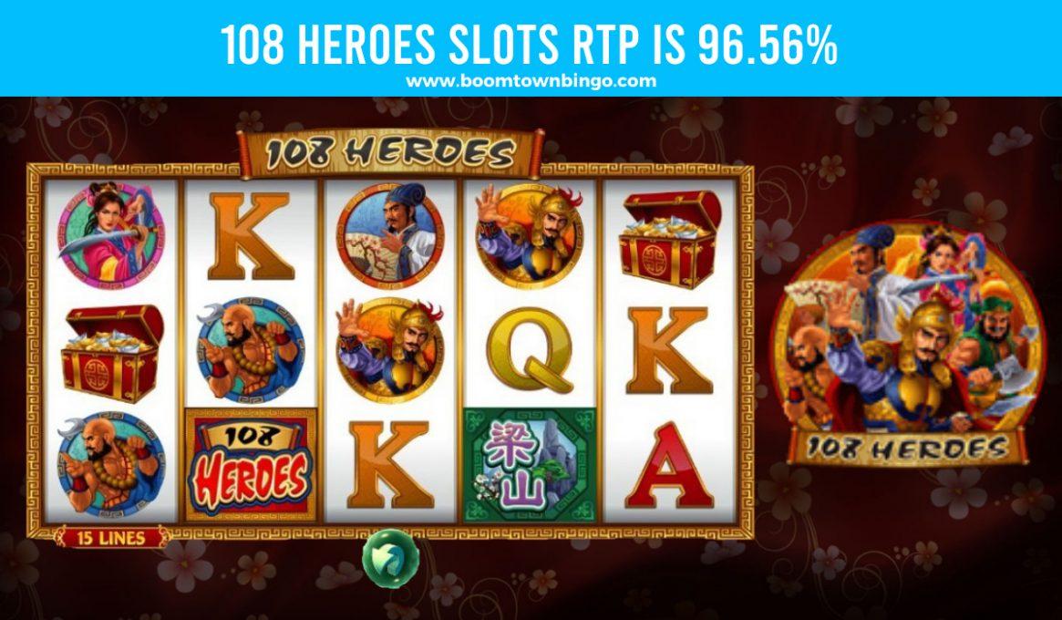 108 Heroes Slots Return To Player