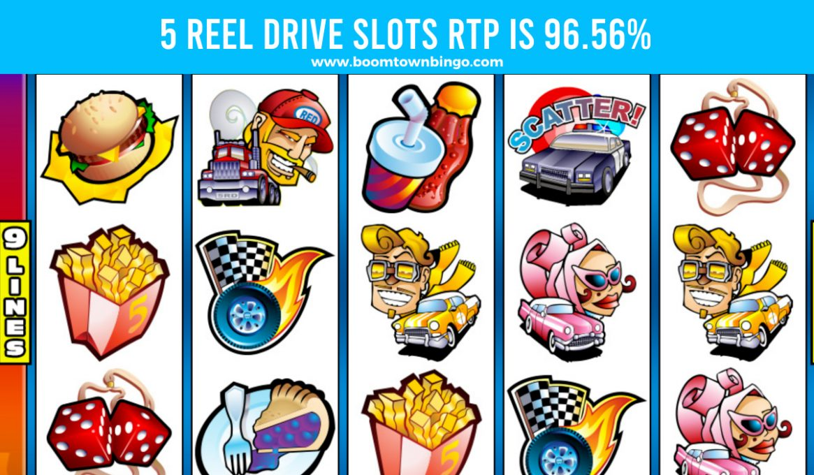 5 Reel Drive Slots Slots Return To Player