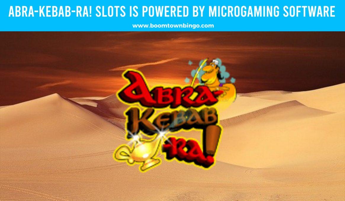 Abra-Kebab-Ra Slots made by Microgaming software