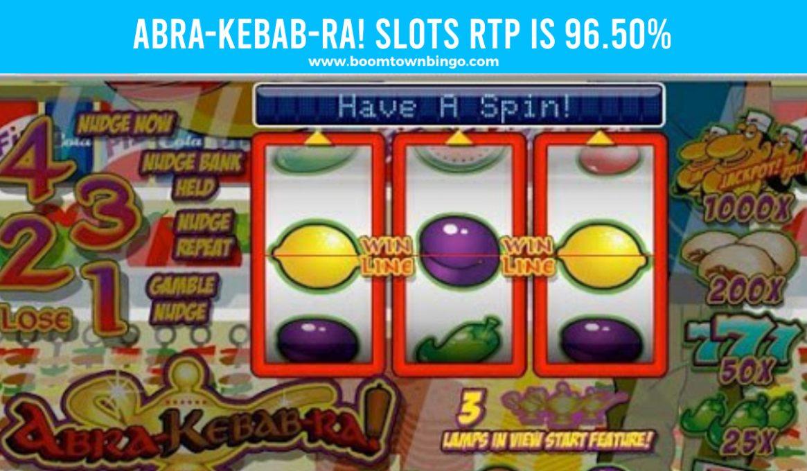 Abra-Kebab-Ra! Slots Return to player