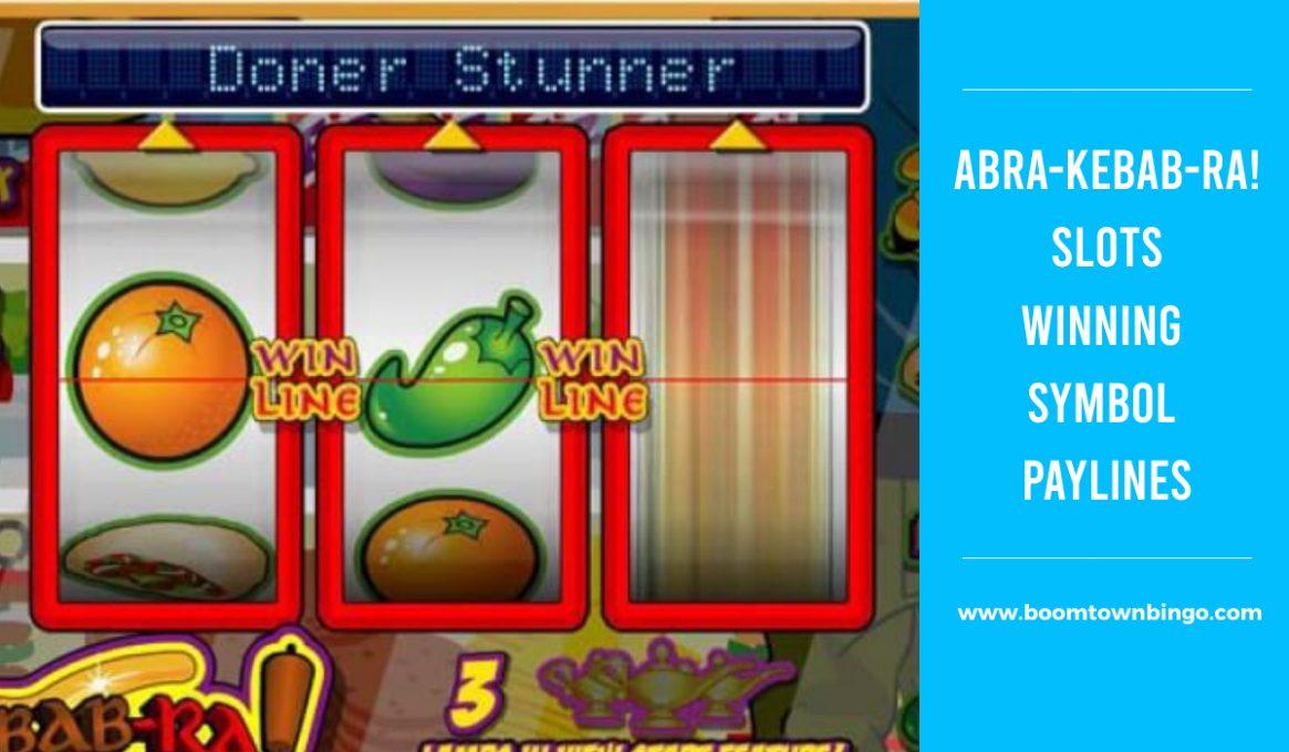 Abra-Kebab-Ra! Slots Winning Paylines