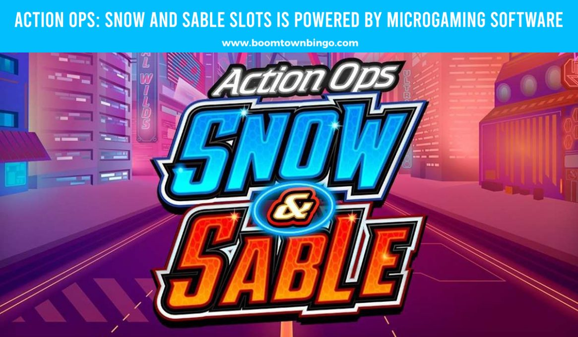 Action Ops Snow and Sable Slots made by Microgaming Software