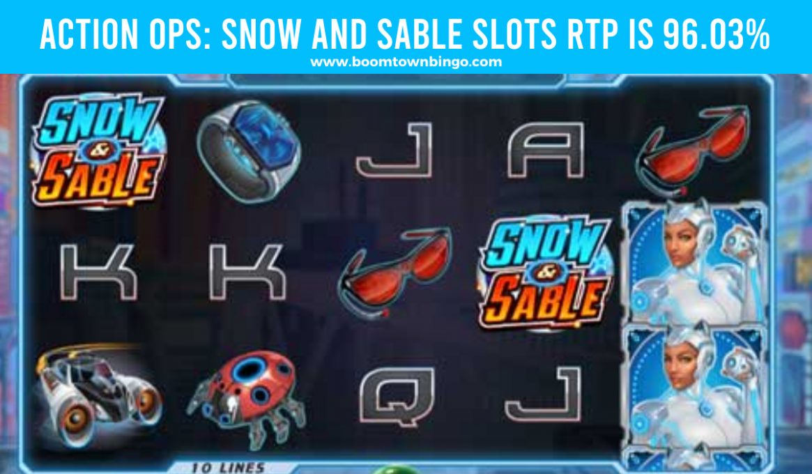 Action Ops Snow and Sable Slots Return to player