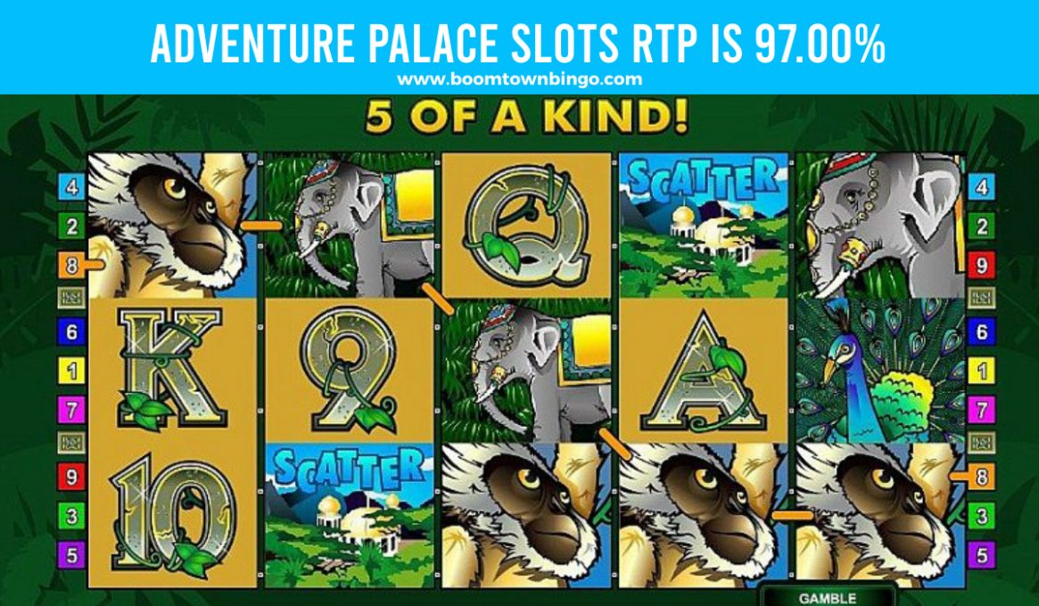 Adventure Palace Slots Return to player