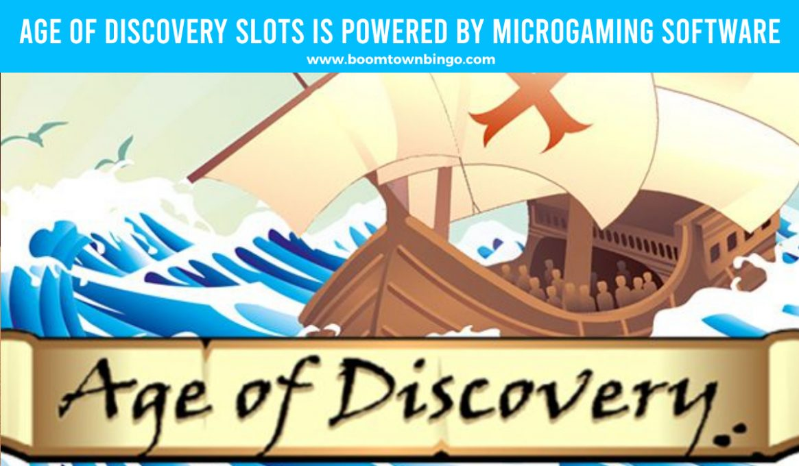 Age of Discovery Slots made by Microgaming Software