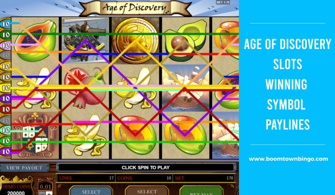 Age of Discovery Slots Paylines