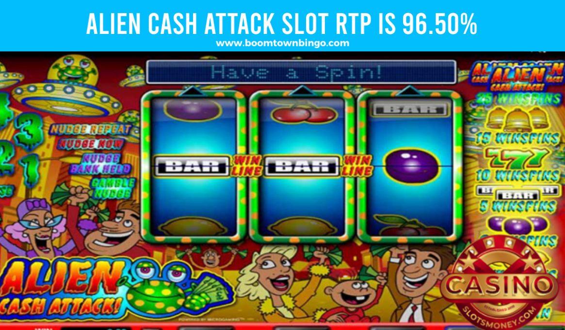 Alien Cash Attack Slot Return to player