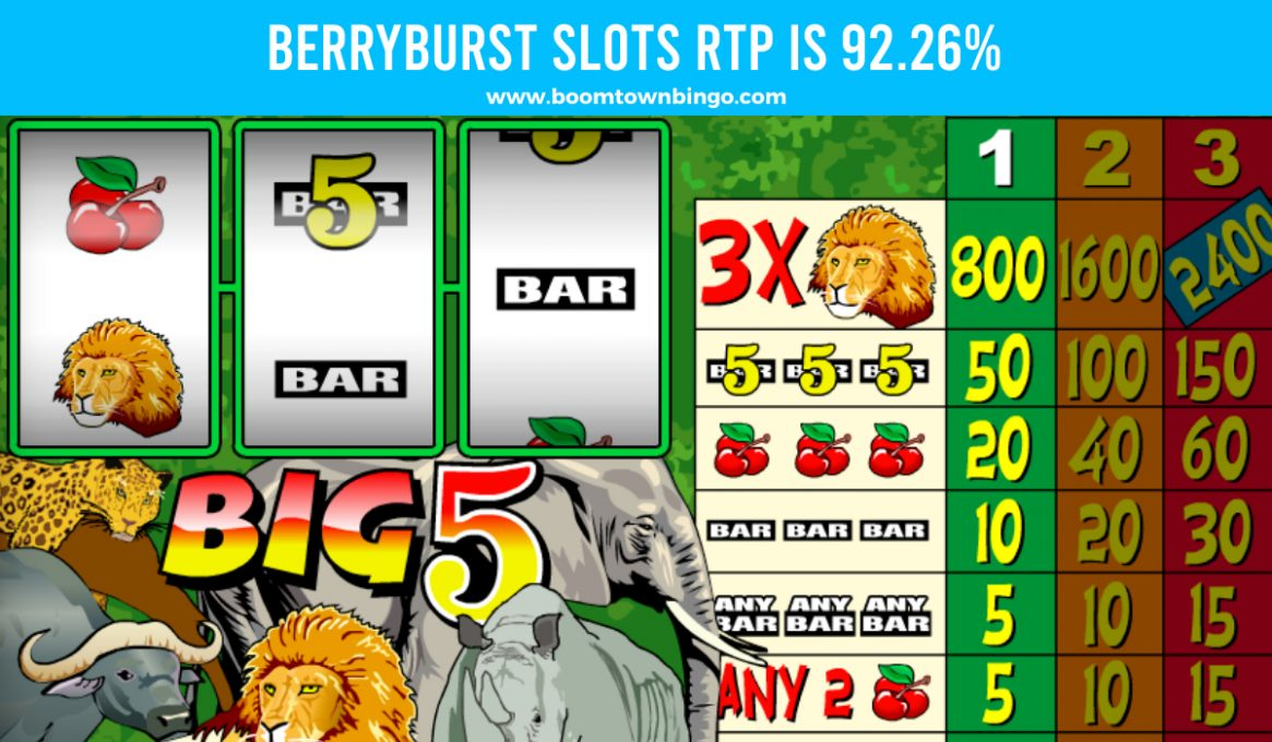 Big 5 Slots Return to player