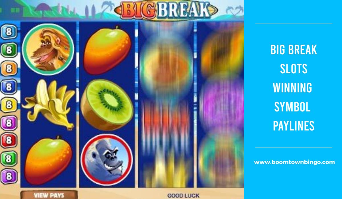 Big Break Slots Symbol winning Paylines