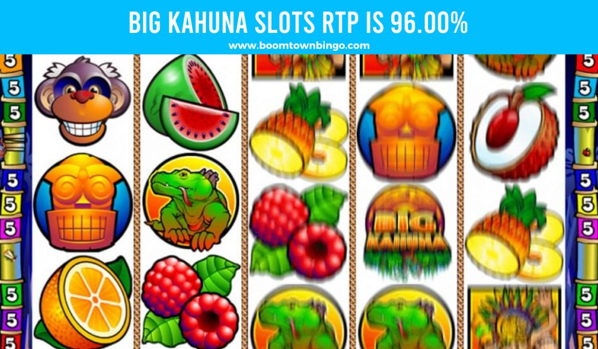 Big Kahuna Slots Return to player