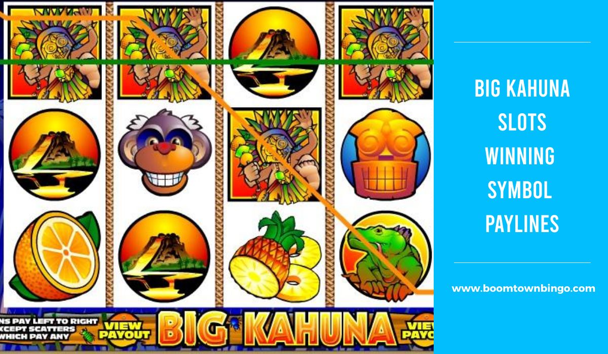 Big Kahuna Slots Symbol winning Paylines