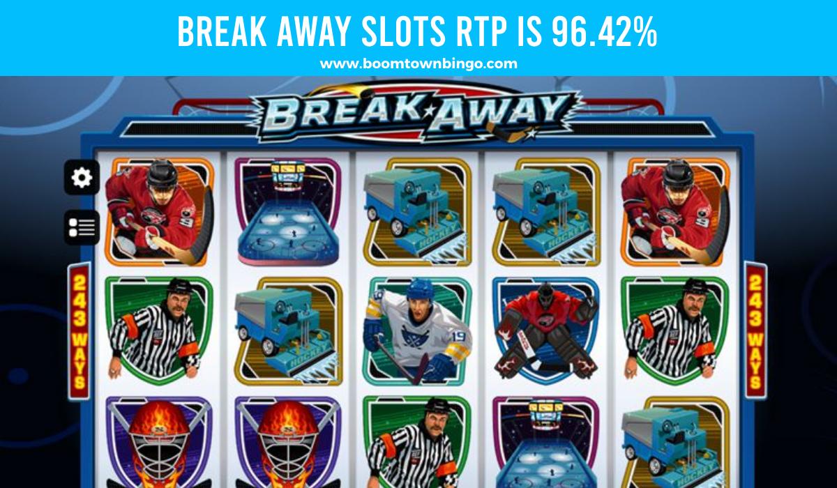 Break Away Slots Return to player