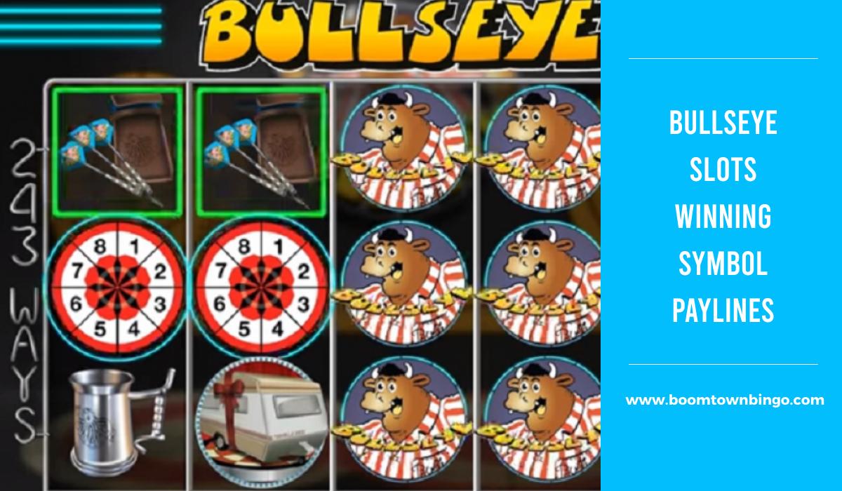 Bullseye Slots Symbol winning Paylines