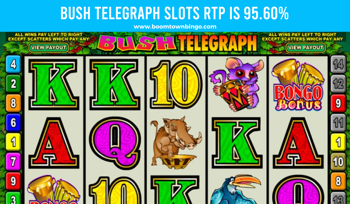 Bush Telegraph Slots Return to player