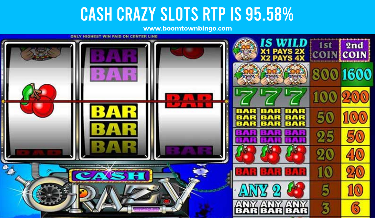 Cash Crazy Slots Return to player
